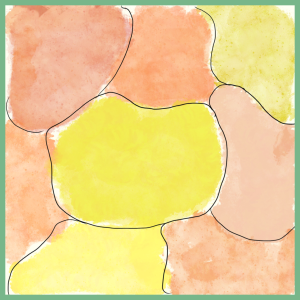 pluktuinontwerp geel oranje