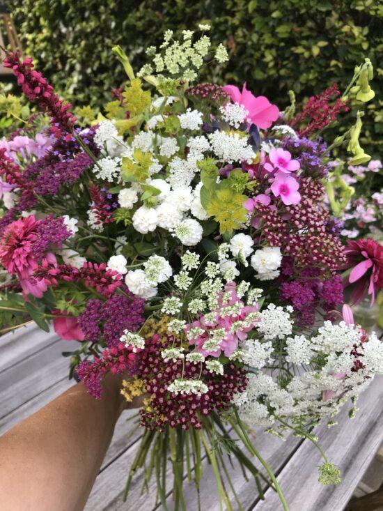 verse bos bloemen plakboek